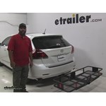 Curt  Hitch Cargo Carrier Review - 2014 Toyota Venza