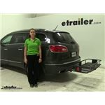 Curt  Hitch Cargo Carrier Review - 2015 Buick Enclave