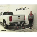 Curt  Hitch Cargo Carrier Review - 2015 Chevrolet Colorado