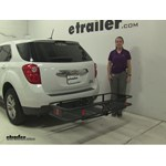 Curt  Hitch Cargo Carrier Review - 2015 Chevrolet Equinox