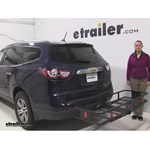 Curt  Hitch Cargo Carrier Review - 2015 Chevrolet Traverse