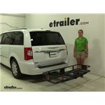 Curt  Hitch Cargo Carrier Review - 2015 Chrysler Town and Country