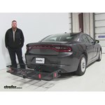 Curt  Hitch Cargo Carrier Review - 2015 Dodge Charger