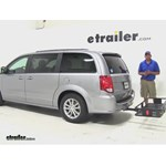 Curt  Hitch Cargo Carrier Review - 2015 Dodge Grand Caravan