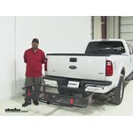 Curt  Hitch Cargo Carrier Review - 2015 Ford F-350 Super Duty