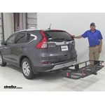 Curt  Hitch Cargo Carrier Review - 2015 Honda CR-V