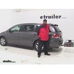 Curt  Hitch Cargo Carrier Review - 2015 Honda Odyssey