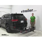 Curt  Hitch Cargo Carrier Review - 2015 Jeep Grand Cherokee