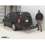 Curt  Hitch Cargo Carrier Review - 2015 Jeep Patriot