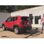 Curt  Hitch Cargo Carrier Review - 2015 Jeep Renegade