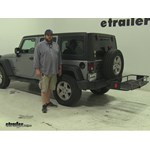 Curt  Hitch Cargo Carrier Review - 2015 Jeep Wrangler Unlimited