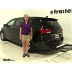 Curt  Hitch Cargo Carrier Review - 2015 Kia Sedona