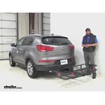 Curt  Hitch Cargo Carrier Review - 2015 Kia Sportage