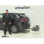 Curt  Hitch Cargo Carrier Review - 2015 Mazda CX-9