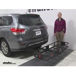 Curt  Hitch Cargo Carrier Review - 2015 Nissan Pathfinder