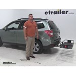 Curt  Hitch Cargo Carrier Review - 2015 Subaru Forester