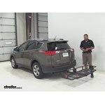 Curt  Hitch Cargo Carrier Review - 2015 Toyota RAV4