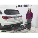 Curt  Hitch Cargo Carrier Review - 2016 Acura MDX