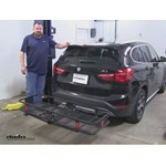 Curt  Hitch Cargo Carrier Review - 2016 BMW X1