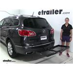 Curt  Hitch Cargo Carrier Review - 2016 Buick Enclave