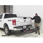 Curt  Hitch Cargo Carrier Review - 2016 Ford F-150