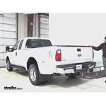 Curt  Hitch Cargo Carrier Review - 2016 Ford F-350 Super Duty