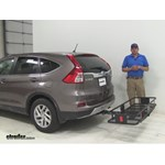 Curt  Hitch Cargo Carrier Review - 2016 Honda CR-V