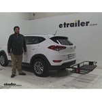 Curt  Hitch Cargo Carrier Review - 2016 Hyundai Tucson