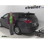 Curt  Hitch Cargo Carrier Review - 2016 Kia Sedona