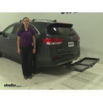 Curt  Hitch Cargo Carrier Review - 2016 Kia Sorento