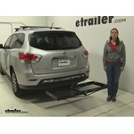 Curt  Hitch Cargo Carrier Review - 2016 Nissan Pathfinder