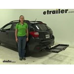 Curt  Hitch Cargo Carrier Review - 2016 Subaru Crosstrek