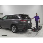 Curt  Hitch Cargo Carrier Review - 2016 Toyota Highlander