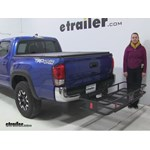 Curt  Hitch Cargo Carrier Review - 2016 Toyota Tacoma