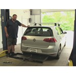 Curt  Hitch Cargo Carrier Review - 2016 Volkswagen Golf