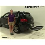Curt  Hitch Cargo Carrier Review - 2016 Volkswagen Tiguan