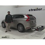 Curt  Hitch Cargo Carrier Review - 2016 Volvo XC60