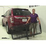 Curt 24x60 Hitch Cargo Carrier Review - 2005 Chevrolet Equinox