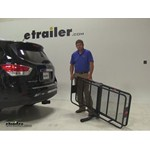 Curt 24x60 Hitch Cargo Carrier Review - 2014 Nissan Pathfinder