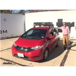 Curt  Roof Basket Review - 2016 Honda Fit