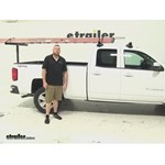 Darby Extend A Truck Hitch Cargo Carrier Review - 2015 Chevrolet Silverado 1500