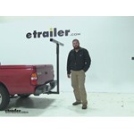 Video review darby extend a truck hitch mounted load extender dta944