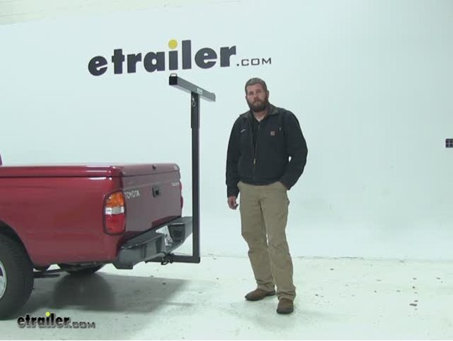 Darby Extend-A-Truck Hitch Mounted Load Extender Review Video   etrailer.com dff5e4a7a96c