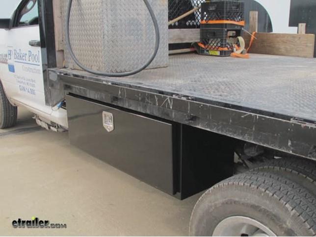 Deezee Specialty Series Underbody Toolbox Steel 9 Cu
