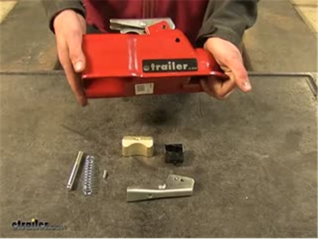 trailer coupler repair kit instructions
