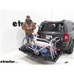 Video review etrailer folding cargo carrier e98872