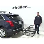 etrailer Hitch Cargo Carrier Review - 2019 Cadillac XT5