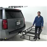 etrailer Hitch Cargo Carrier Review - 2019 Chevrolet Suburban
