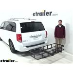 etrailer Hitch Cargo Carrier Review - 2019 Dodge Grand Caravan