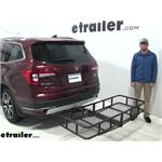 etrailer Hitch Cargo Carrier Review - 2019 Honda Pilot